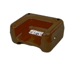 CSL 855BRN-1 Booster Seat w/ Dual Height & Extra Wide Base, Brown