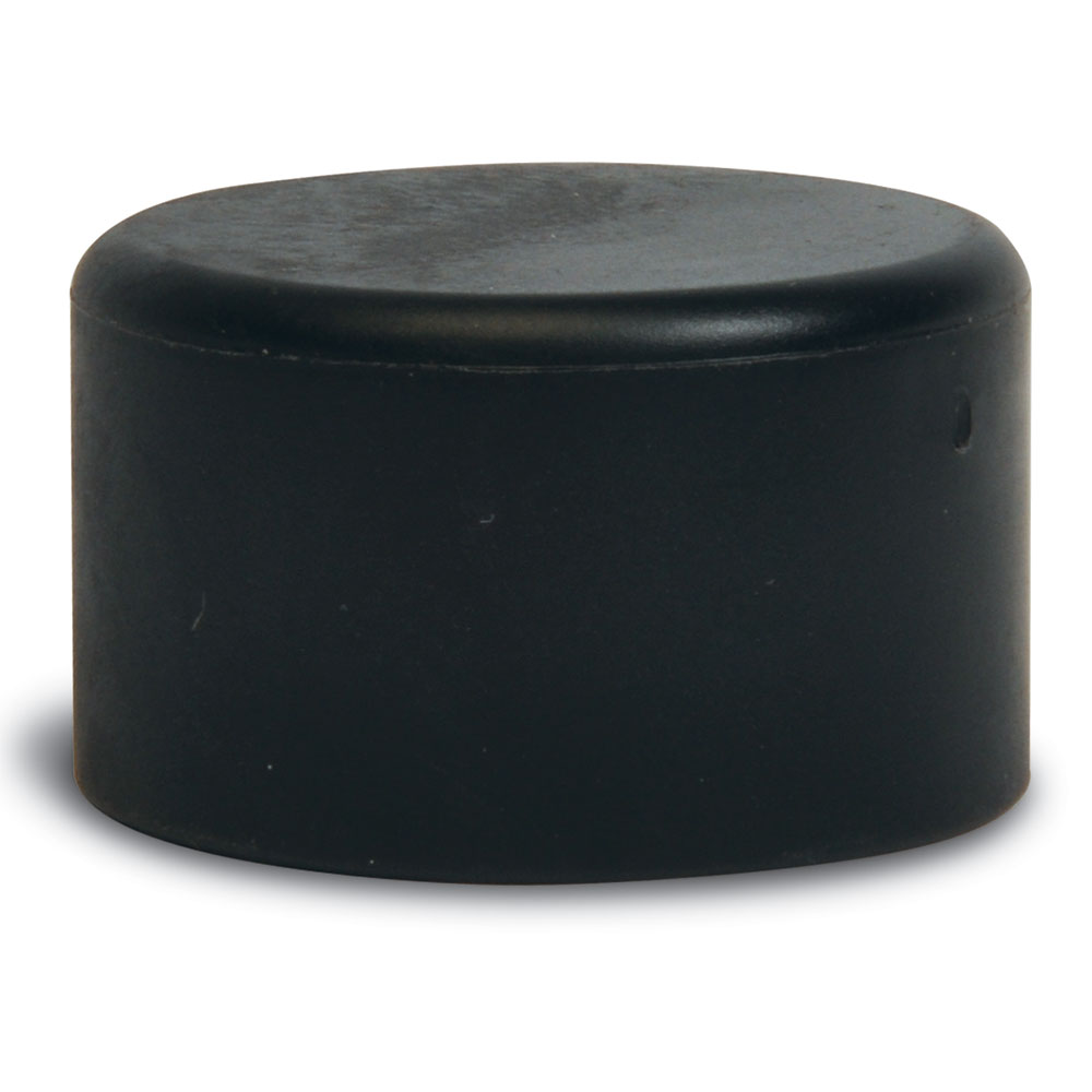 "CSL P134-4 1"" Replacement End Caps, Black"