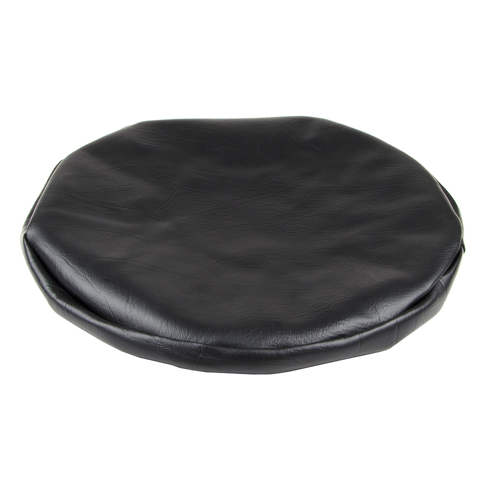 "Royal Industries ROY 720 CB 15"" Vinyl Stool Cover, Black"