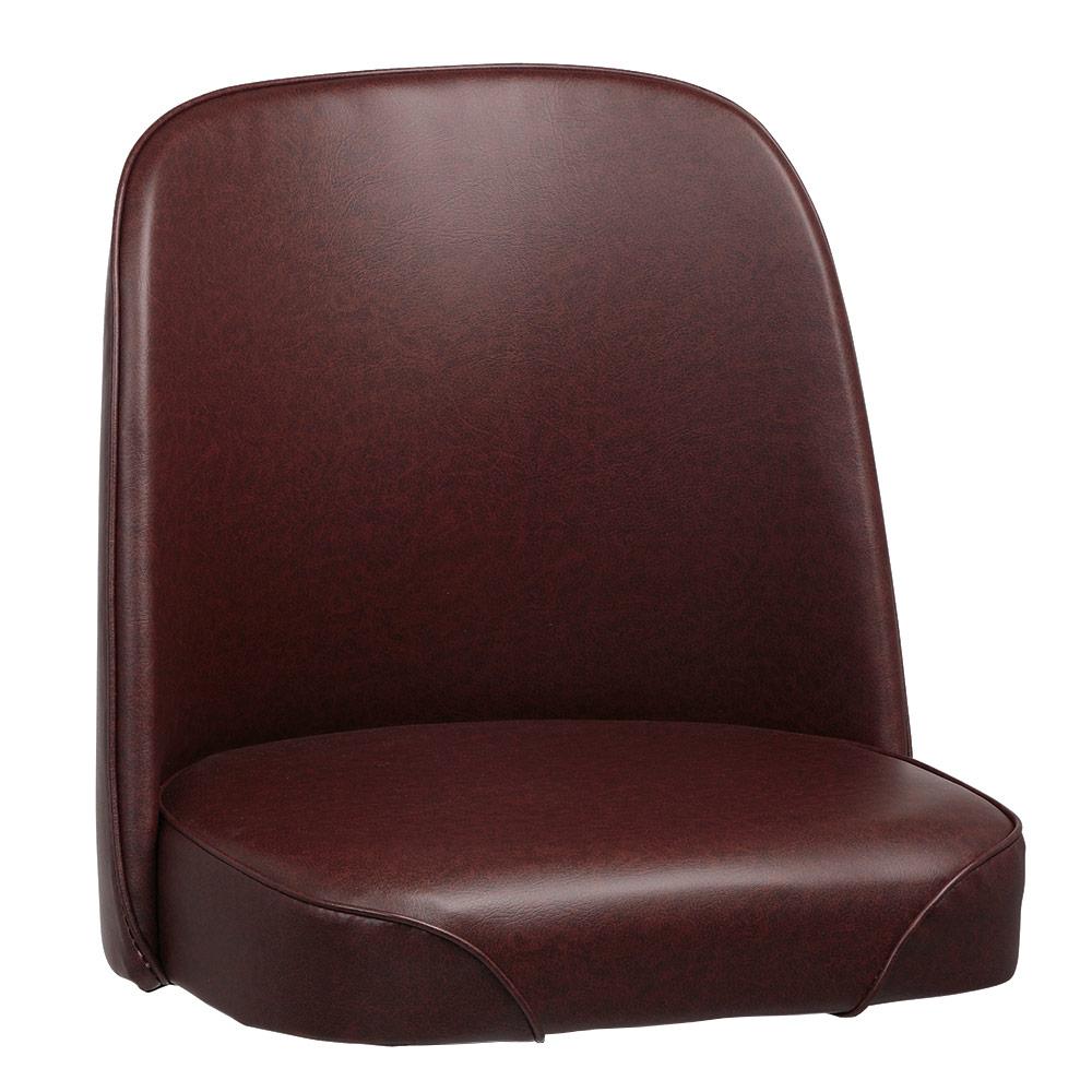 Royal Industries ROY 7714 SBRN Replacement Bucket Bar Stool Seat, Brown