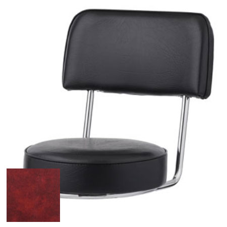 Royal Industries ROY 7715 SCRM Replacement Open Back Bar Stool Seat, Crimson