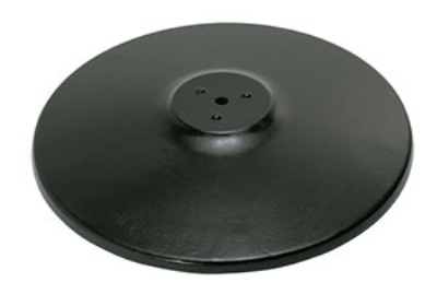 "Royal Industries ROY RTB 17 RB 17"" Round Powder Coated Cast Iron Table Base"