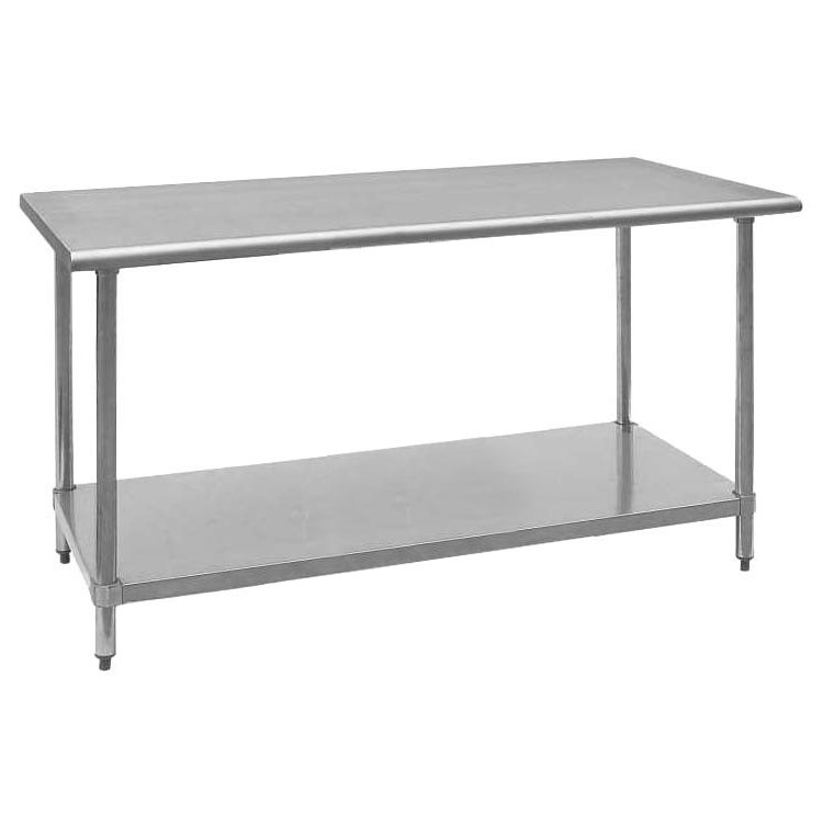 Royal industries roywt2460 60 18 ga work table w for Table 430 52