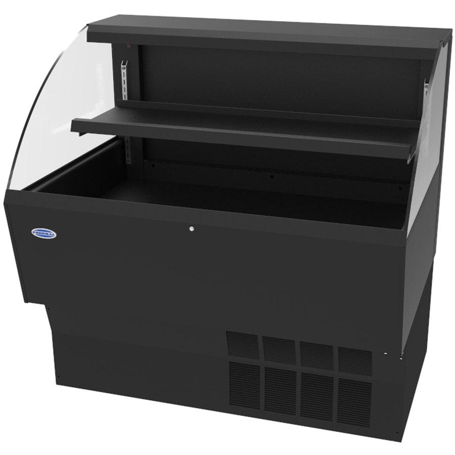 "Federal ELPRSS-3 34.75"" Horizontal Open Air Cooler w/ (2) Levels - Black, 120v"