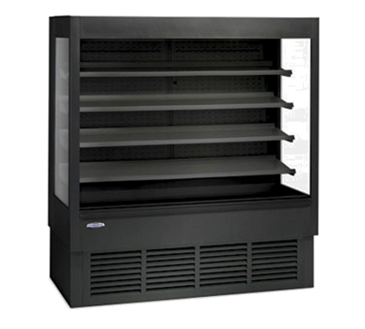 "Federal ERSSHP-678SC 72"" Vertical Open Air Cooler w/ (5) Levels, 120/208-240v/1ph"