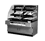 "Federal BPFD-54SS 54"" Self Service Bakery Case w/ Curved Glass - (3) Levels, 120v"