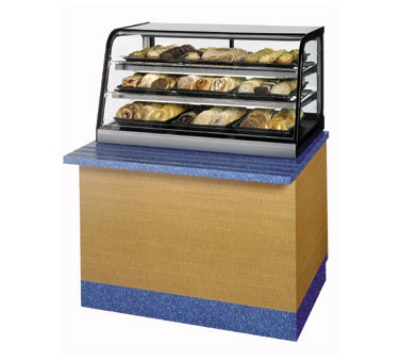 Federal Industries CD3628SS 36-in Countertop Non-Refrigerated Merchandiser, 3-Lift Up Front Door, Stainless