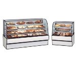 "Federal CGD7748 77"" Full Service Bakery Case w/ Curved Glass - (4) Levels, 120v"