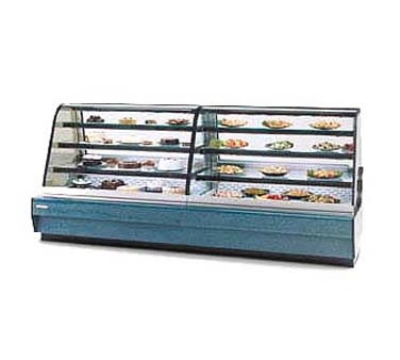 "Federal CGHIS-2 59"" Full Service Bakery Case w/ Curved Glass - (4) Levels, 120v"