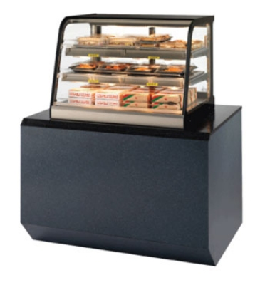 Federal Industries CH4828SS 47-in Counter Top Hot Self-Serve Merchandiser w/ 2-Tier Shelves