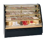 "Federal FCCR-6 72"" Full Service Bakery Case w/ Curved Glass - (4) Levels, 120v"