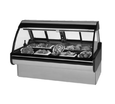 "Federal MCG-854-DM 98"" Full Service Deli Case w/ Curved Glass - (1) Levels, 115v"