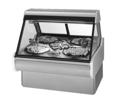 "Federal MSG-454-DF 50"" Full Service Deli Case w/ Straight Glass - (1) Levels, 120v"