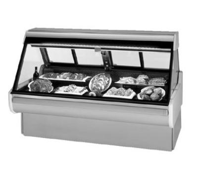 "Federal Industries MSG-854-DM 98"" Full Service Deli Case w/ Straight Glass - (1) Levels, 120v"