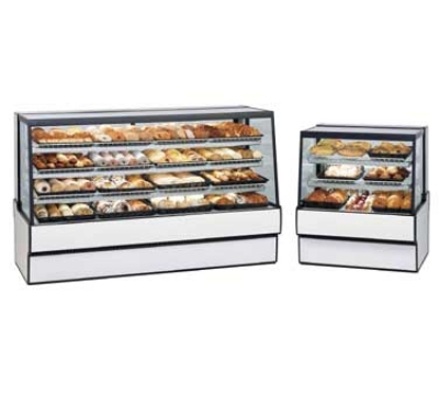 "Federal SGD7748 77"" Full Service Bakery Case w/ Straight Glass - (4) Levels, 120v"