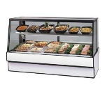 "Federal Industries SGR5048CD 50"" Full Service Deli Case w/ Straight Glass - (2) Levels, 120v"