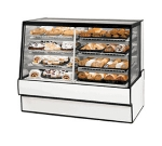 "Federal SGR5042DZ 50"" Full Service Bakery Case w/ Straight Glass - (4) Levels, 120v"