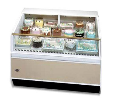 "Federal Industries SN-4CD-SS 48"" Self Service Deli Case w/ Straight Glass - (1) Levels, 120v"