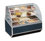 "Federal SNR-48SC 48"" Full Service Bakery Case w/ Curved Glass - (4) Levels, 120v"