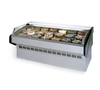 "Federal SQ-5CBSS 60"" Self Service Bakery Case w/ Straight Glass, (1) Level, 120v"