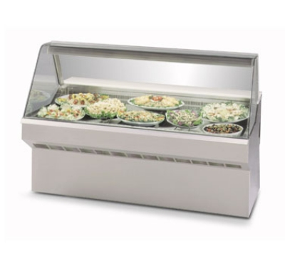 "Federal SQ-5CD 60"" Full Service Deli Case w/ Curved Glass - (1) Levels, 120v"