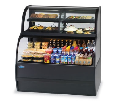 Federal SSRC3652 120 36-in Self-Serve Merchandiser w/ Convertible Top, Black, 120v