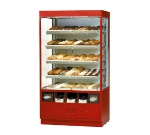 "Federal WDC4276SS 42"" Self Service Bakery Case w/ Straight Glass - (5) Levels, 120v"
