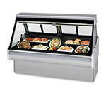 "Federal MSG-454-DM 50"" Full Service Deli Case w/ Straight Glass - (1) Levels, 120v"