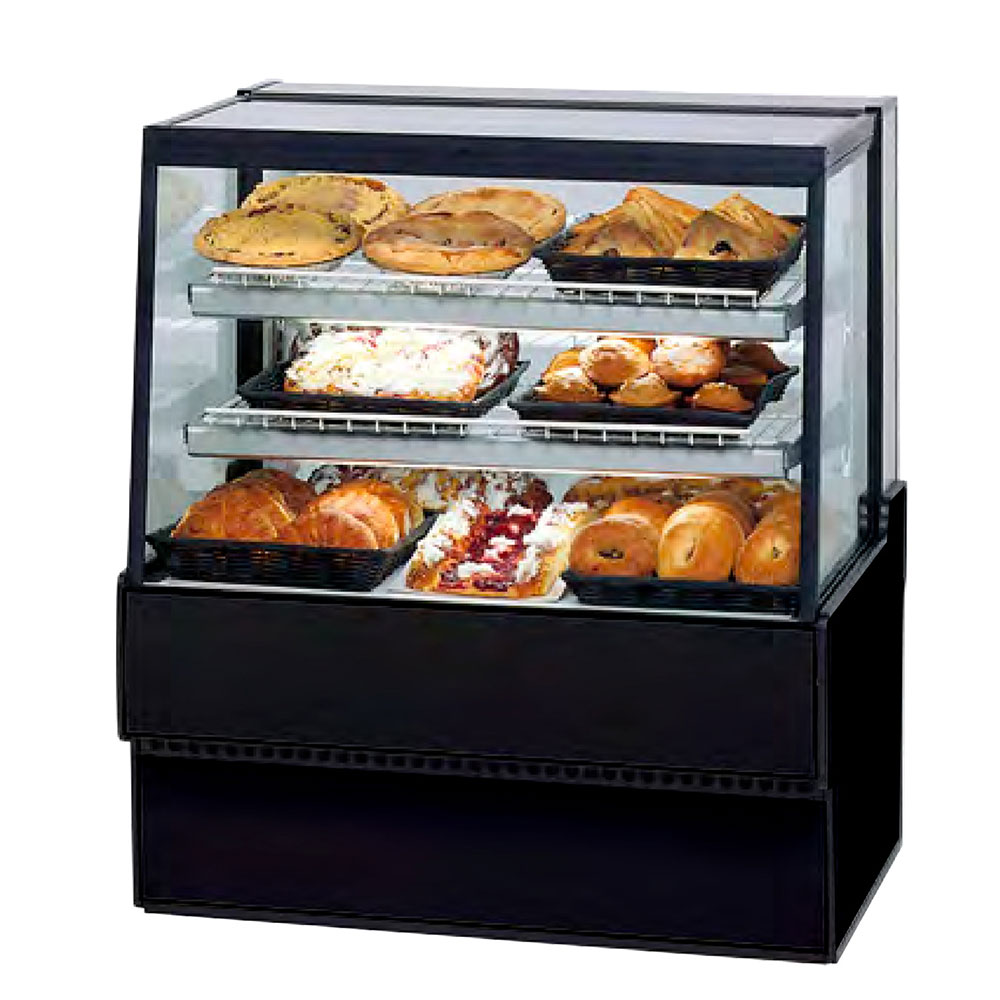 """Federal SGD3642 36"""" Full Service Bakery Case w/ Straight Glass - (3) Levels, 120v"""