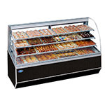 "Federal SN-48 48"" Full Service Bakery Case w/ Curved Glass - (4) Levels, 120v"
