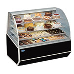 "Federal SNR-59SC 59"" Full Service Bakery Case w/ Curved Glass - (4) Levels, 120v"