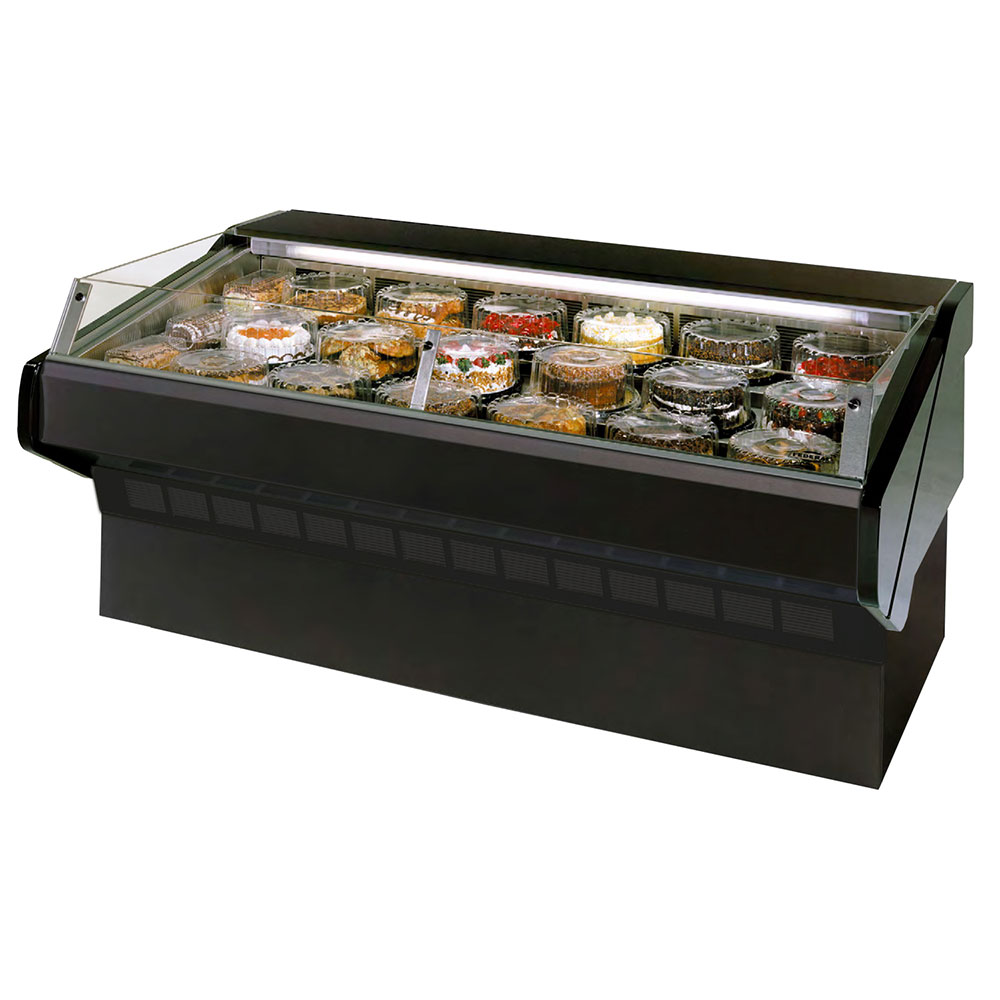 "Federal SQ-4CBSS 48"" Self Service Bakery Case w/ Straight Glass - (1) Level, 120v"