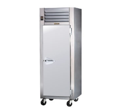Traulsen AHF132WP-FHG 208 1-Section Pass-Thru Heated Cabinet w/ Full Glass Door, 208/115/1 V