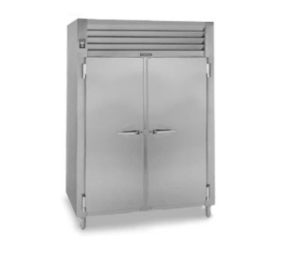 Traulsen AHF232W-FHG 208 2-Section Reach-In Heated Cabinet w/ Full Glass Door, 208/115/1 V
