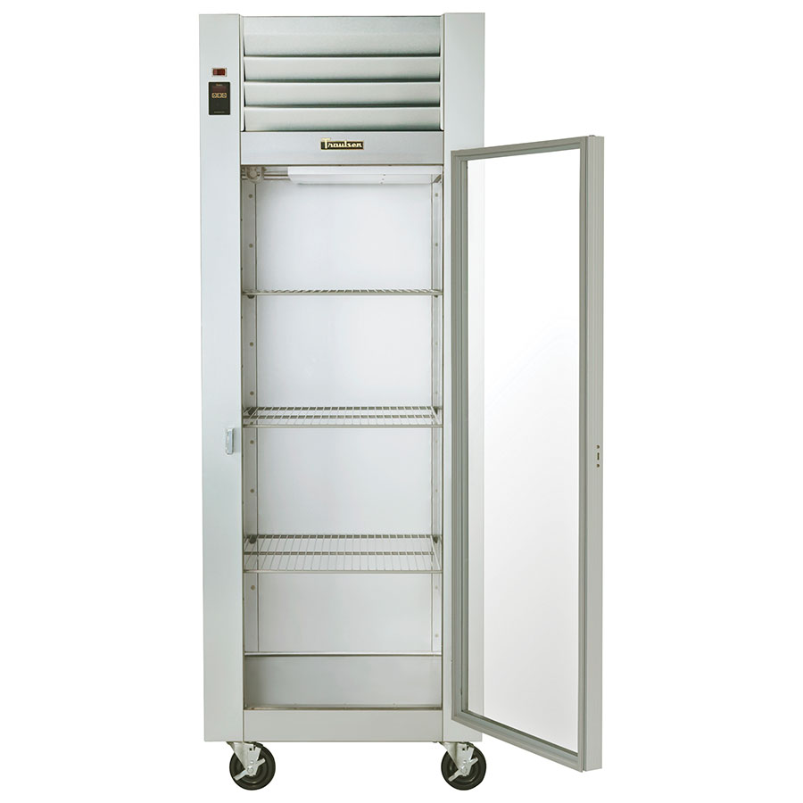 "Traulsen G11010 30"" One-Section Refrigerated Display w/ Swing Doors, Top Mount Compressor, 115v"