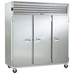 "Traulsen G30010 77"" Three Section Reach-In Refrigerator, (3) Solid Door, 115v"