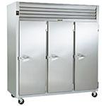 """Traulsen G30013 77"""" Three Section Reach-In Refrigerator, (3) Solid Door, 115v"""