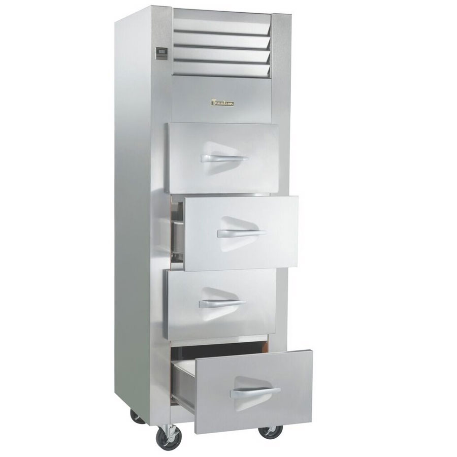 """Traulsen RFS126N-1 28"""" Single Section Reach-In Fish Poultry Refrigerator, (4) Drawers, 115v"""