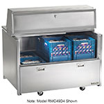 Traulsen RMC34S4 115V 8-Crate Milk Cooler w/ Floor Drain - Side Lift Doors, 115v