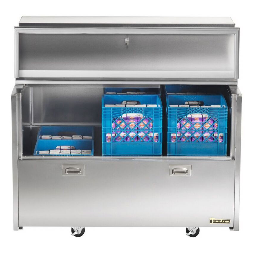 Traulsen RMC49D4 Milk Cooler w/ Side Access - (768) Half Pint Carton Capacity, 115v