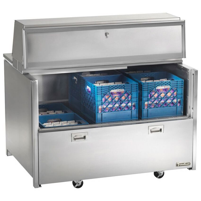Traulsen RMC49D6 Milk Cooler w/ Side Access - (768) Half Pint Carton Capacity, 115v