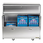 Traulsen RMC49S6 Milk Cooler w/ Side Access - (768) Half Pint Carton Capacity, 115v