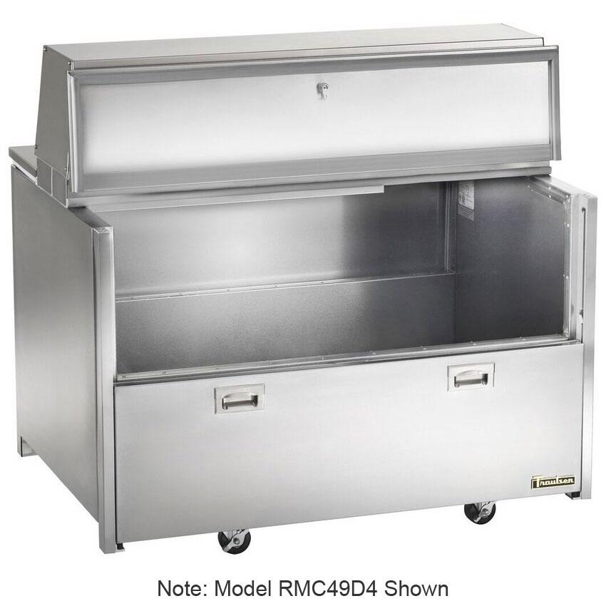 Traulsen RMC58D6 Milk Cooler w/ Side Access - (1024) Half Pint Carton Capacity, 115v