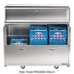 Traulsen RMC58S4 Milk Cooler w/ Top & Side Access - (1024) Half Pint Carton Capacity, 115v
