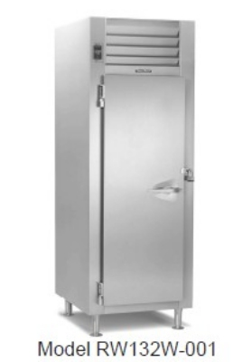 Traulsen RW132W-COR01 24.2-cu ft Correctional Reach-In Heated Cabinet w/ Full Door, 208/115 V