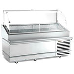 "Traulsen TD078HT-1 78"" Full Service Deli Case w/ Curved Glass - (1) Levels, 115v"
