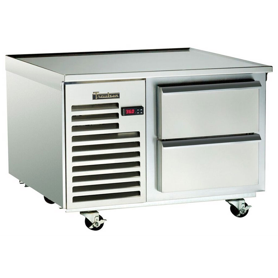 "Traulsen TE036HT 115 36"" Chef Base w/ (2) Drawers - 115v"
