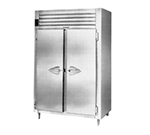 "Traulsen RHT232WUT-FHS 58"" Two Section Reach-In Refrigerator (2) Solid Door 115v"