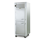 Traulsen G14301 208 Reach-In Hot Holding Cabinet w/ 1-Section, Half Solid Doors, 208/1 V
