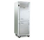 Traulsen G14300 208 Reach-In Single Hot Holding Cabinet w/ Half Solid Doors, 208/1 V